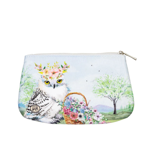 Garden Party Small Cosmetic Bag