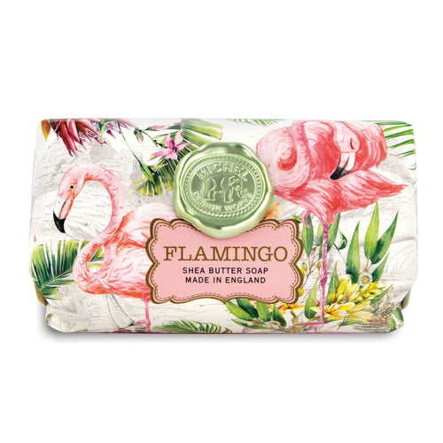 Flamingo Large Bath Soap Bar