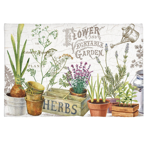 Country Life Scatter Rug