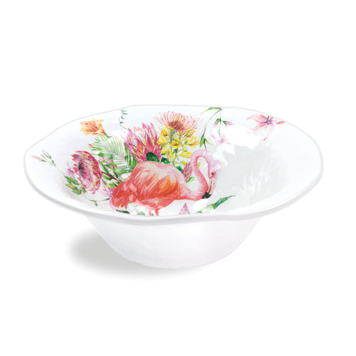 Flamingo Melamine Large Bowl
