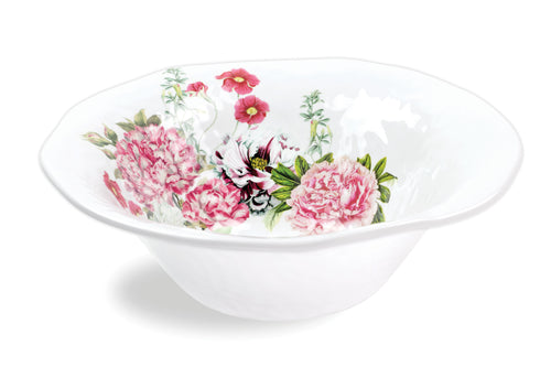Garden Melody Melamine Large Bowl