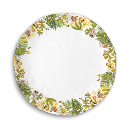 Honey & Clover Melamine Serveware Casual Dinner Plate