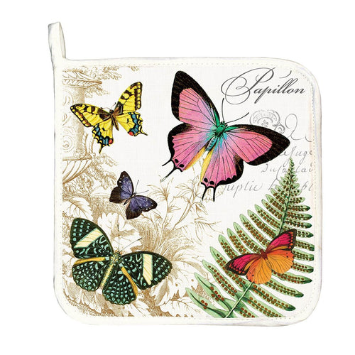 Papillon Potholder