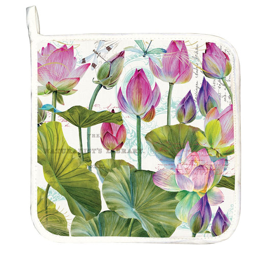 Water Lilies Potholder