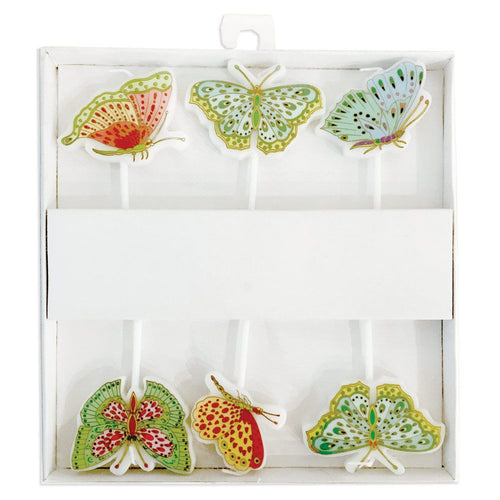 Parvaneh's Butterflies Die-Cut Party & Birthday Candles - 6 Per Package