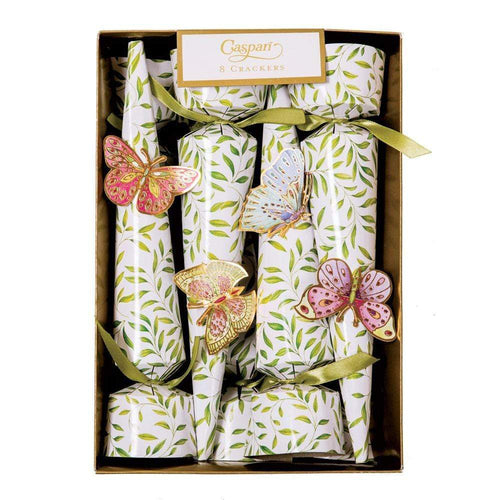 Jeweled Butterflies Cone Celebration Crackers - 8 Per Box