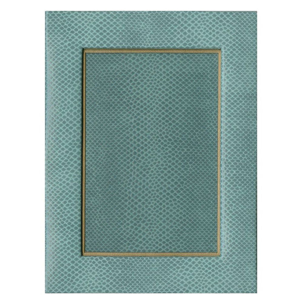 "Snakeskin 4"" x 6"" Picture Frame in Mist - 1 Each"