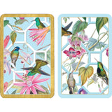 Hummingbird Trellis Playing Cards - 2 Decks Included