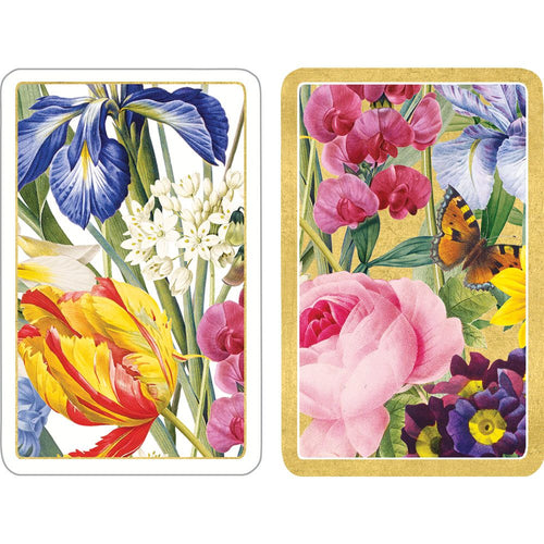 Redoute Floral Playing Cards - 2 Decks Included
