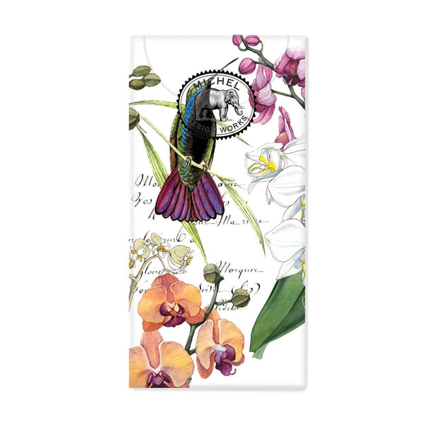 Orchids in Bloom Pocket Tissues