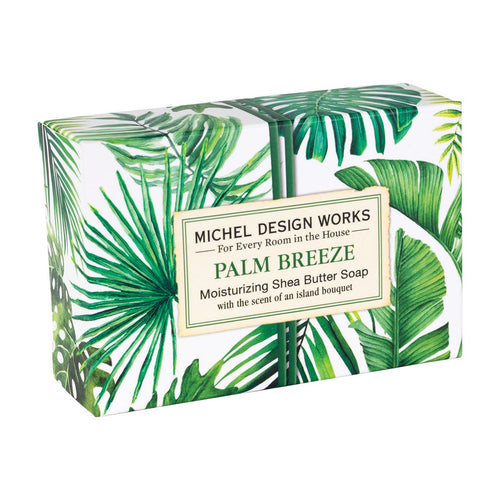 Palm Breeze Boxed Single Soap