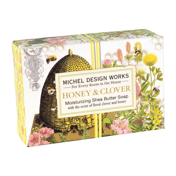 Honey & Clover Boxed Single Soap