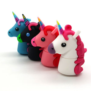 Unicorn USB Flash Drive: 4GB, 8GB, 16GB, 32GB or 64GB