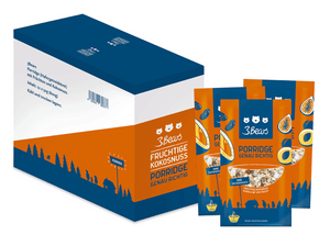 3Bears Porridge Fruchtige Kokosnuss 50g VE12 (D-LP)