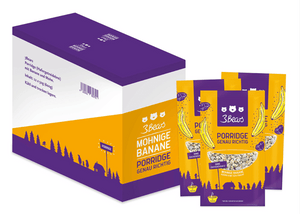 3Bears Porridge Mohnige Banane 50g VE12 (LP)