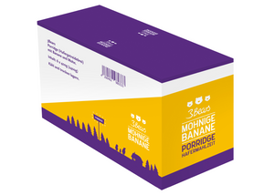3Bears Porridge Mohnige Banane 400g VE6 (LP)