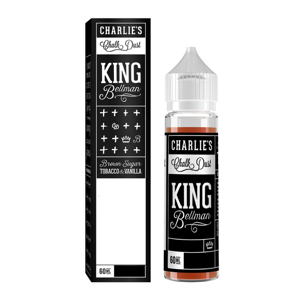 Charlie's Chalk Dust King Bellman, Ejuice, VapeBeta, Australia