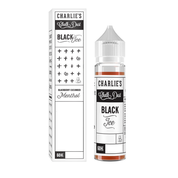 Charlie's Chalk Dust Black Ice, Ejuice, VapeBeta, Australia