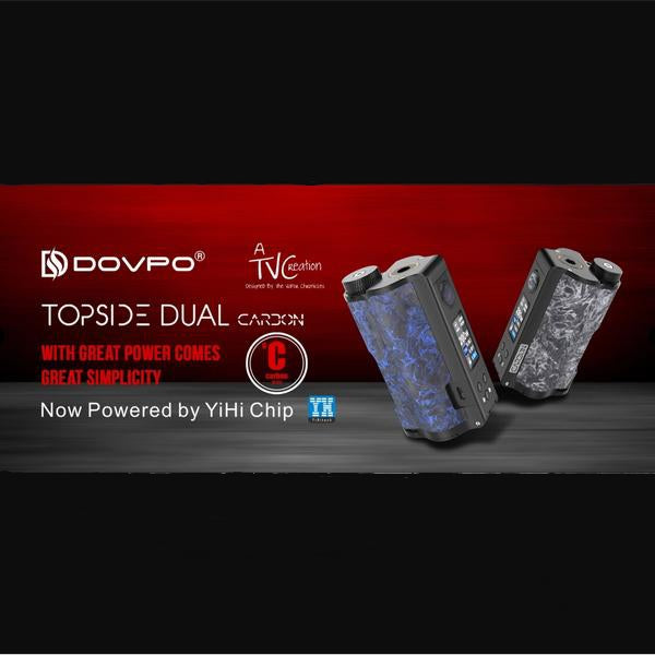 Dovpo Topside Dual 200W Squonk Box Mod, Mods/Devices, VapeBeta, Australia