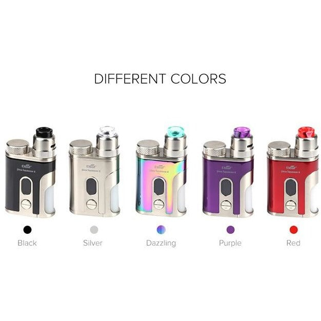 Eleaf Pico Squeeze 2 Squonk Kit with Coral 2 RDA W/ 21700 Battery, Starter Kit, VapeBeta, Australia