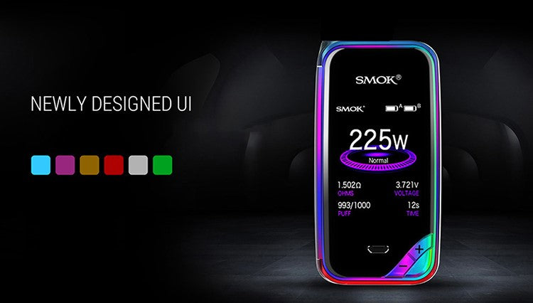 SMOK X-Priv 225W TC Box Mod, Mods/Devices, VapeBeta, Australia