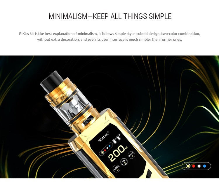 Smok R-Kiss 200W Kit with TFV-Mini V2 Tank, Starter Kit, VapeBeta, Australia