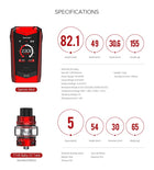 Smok Species 230W Kit with TFV8 Baby V2 Tank, Starter Kit, VapeBeta, Australia