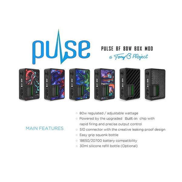 Vandy Vape Pulse BF 80W Box Mod - Mods/Devices - VapeBeta - Australia