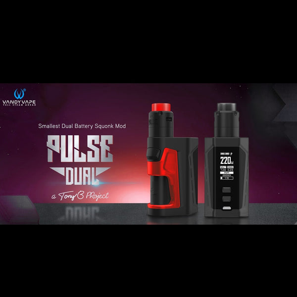 Vandy Vape Pulse Dual Kit with Pulse V2 RDA, Starter Kit, VapeBeta, Australia