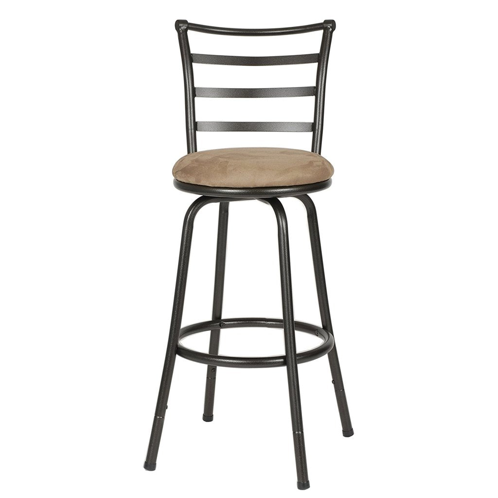 Swell Bar Stool Adjustable Counter Height Furniture Swivel Round Seat Bar Chair Pabps2019 Chair Design Images Pabps2019Com