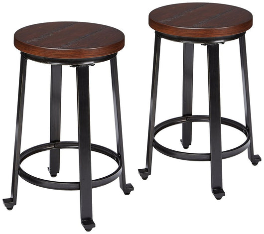 Remarkable Counter Height Bar Stools Round Rustic Barstool Set Of 2 Bralicious Painted Fabric Chair Ideas Braliciousco