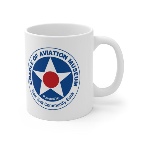 Ceramic Mug 11oz Cradle of Aviation Museum Logo Merch