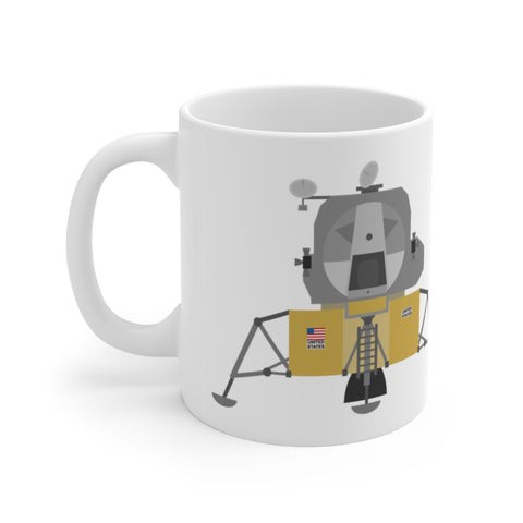 This Mug Preserves History - Apollo Lunar Module 11oz Mug