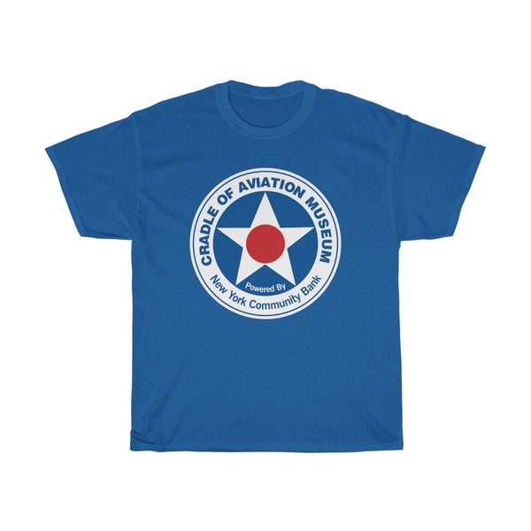 Unisex Heavy Cotton Tee - Cradle of Aviation Museum Logo Merch