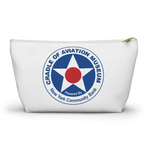Accessory Pouch with T-bottom - Cradle of Aviation Museum Logo Merch