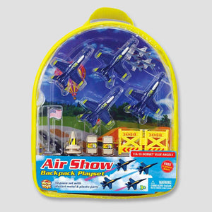 F/A - 18 Blue Angels Backpack Playset