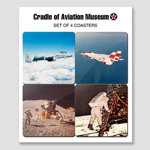 Aviation and Space Coaster Set