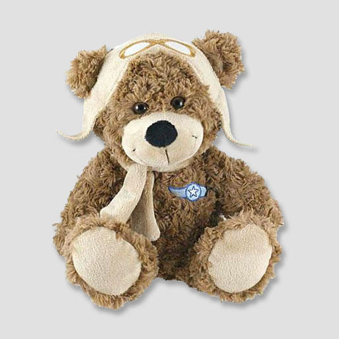Aviator Plush Bear
