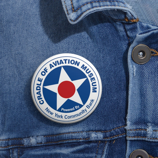 Pin-back Buttons - Cradle of Aviation Museum Logo Merch