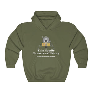 This Hoodie Preserves History - Apollo Lunar Module Unisex Heavy Blend™ Hooded Sweatshirt