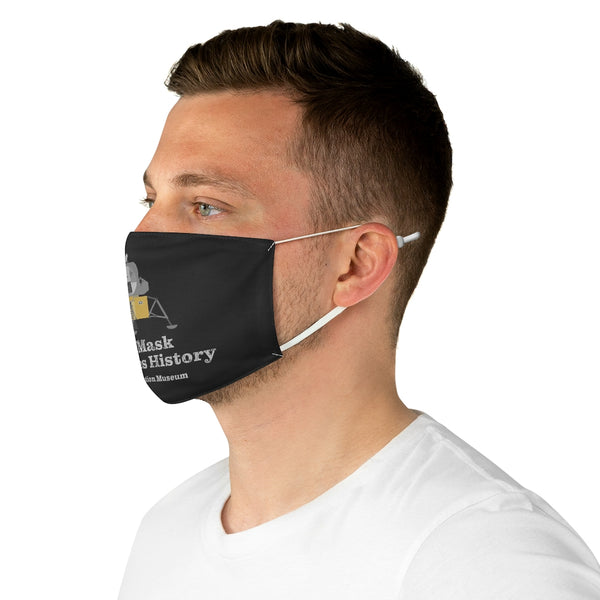This Mask Preserves History - Apollo Lunar Module Fabric Face Mask