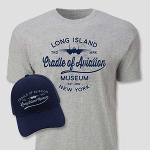 Cradle of Aviation Hat and T-Shirt Combo