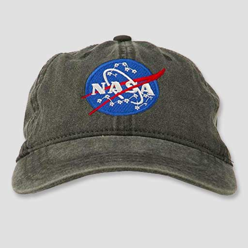 Assorted NASA Youth Logo Hats