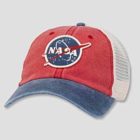 NASA Hanover Red and Navy Hat