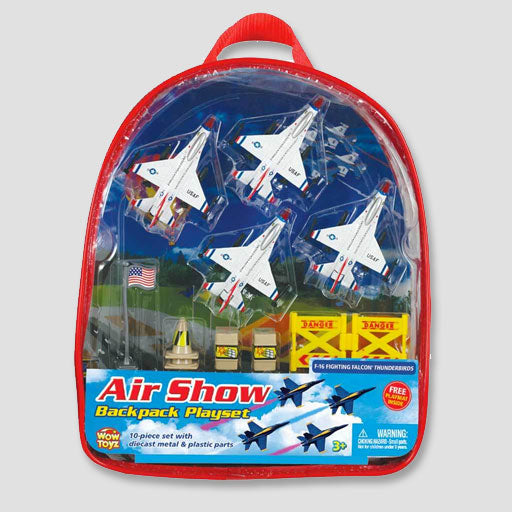 Thunderbirds Backpack Playset