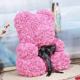 25cm Rose Teddy Bear - Stuffed Animals & Plush Toys