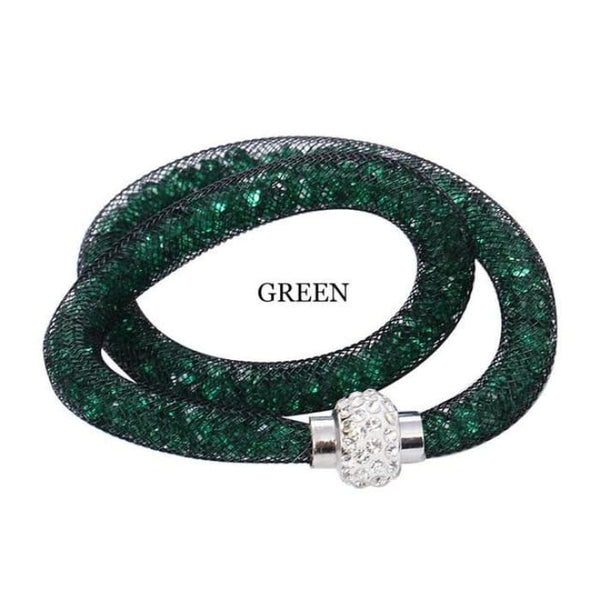 Beautiful Crystal Bracelet - Green - Bracelets