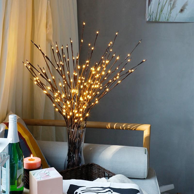 Lighted Twig Branches