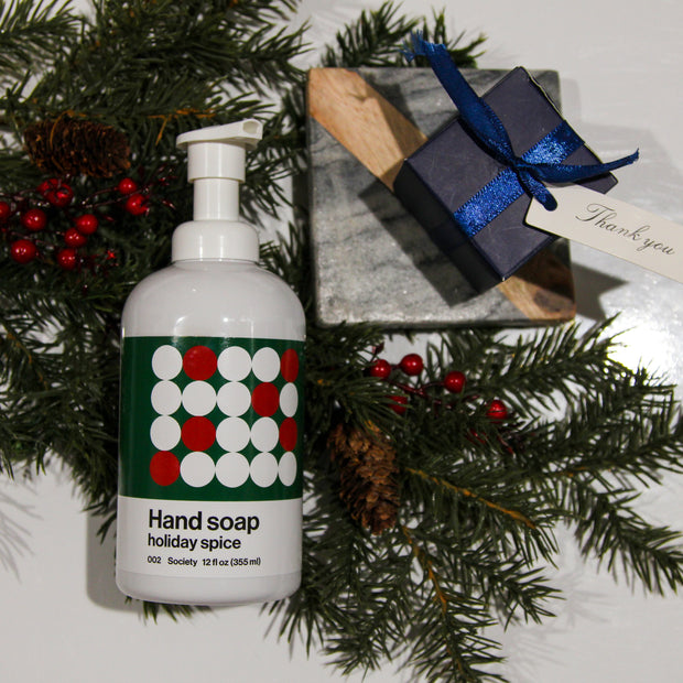 002 **Limited Edition** Holiday Spice Hand Soap