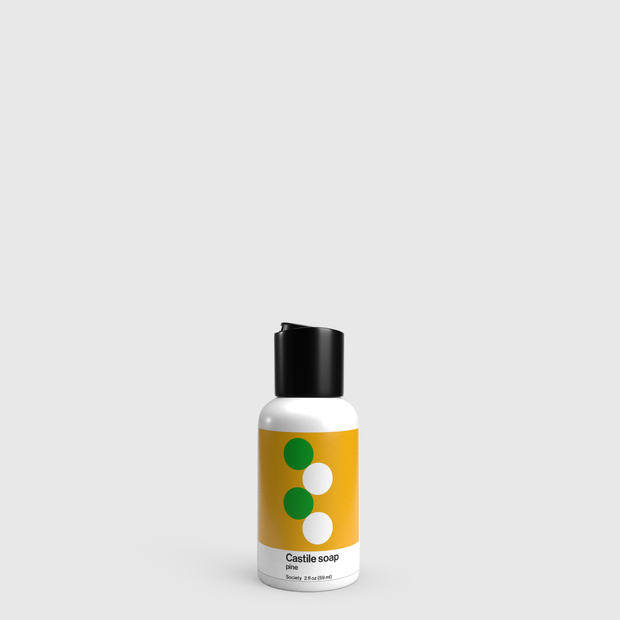 030 Travel Castile Soap
